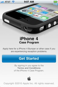 Apple Announces iPhone 4 Free Case Program