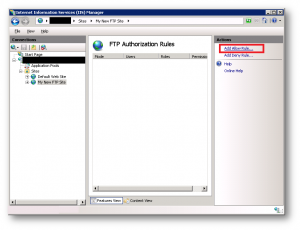 RE:  Windows 7 FTP Server